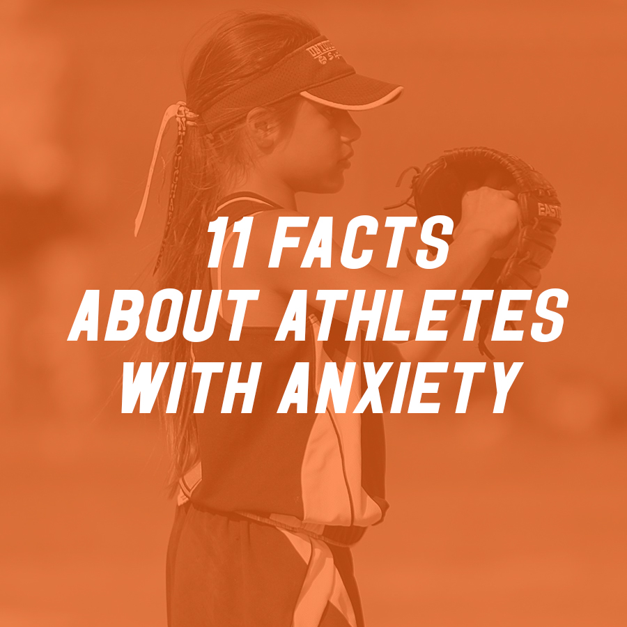 11 Facts About Athletes with Anxiety