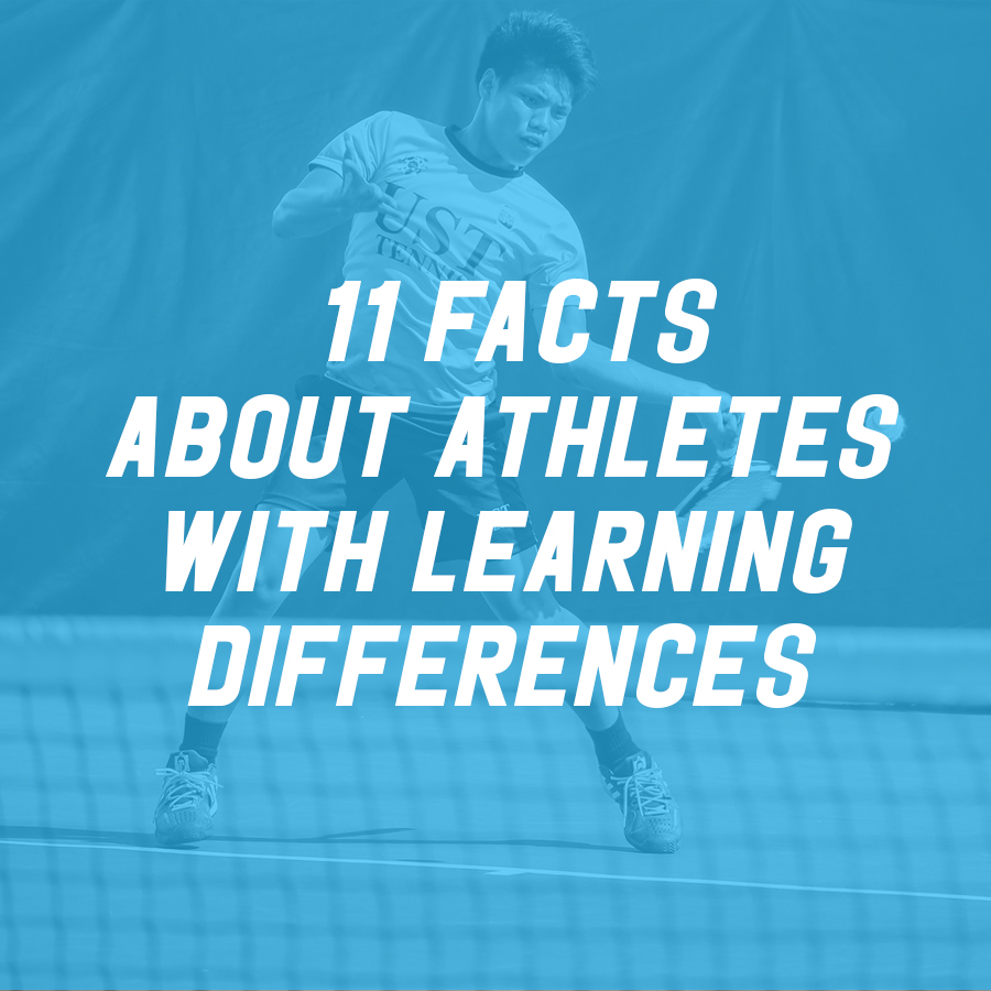 11 Facts About Athletes with Learning Differences