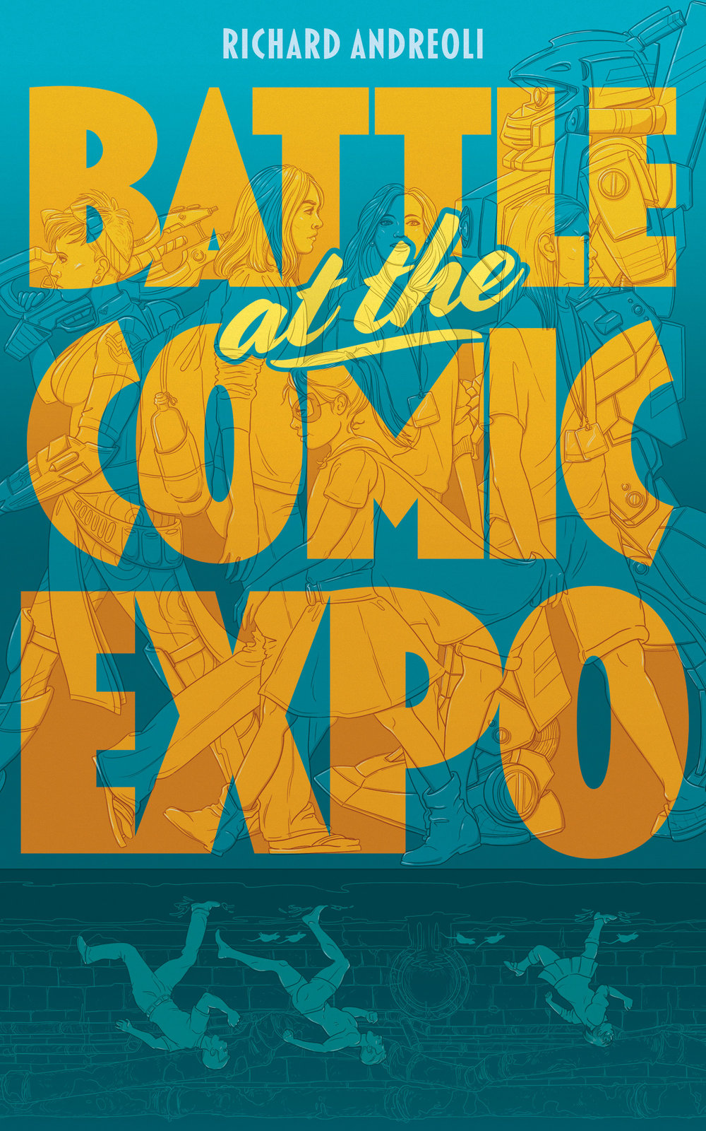 Battle at the Comic Expo cover art