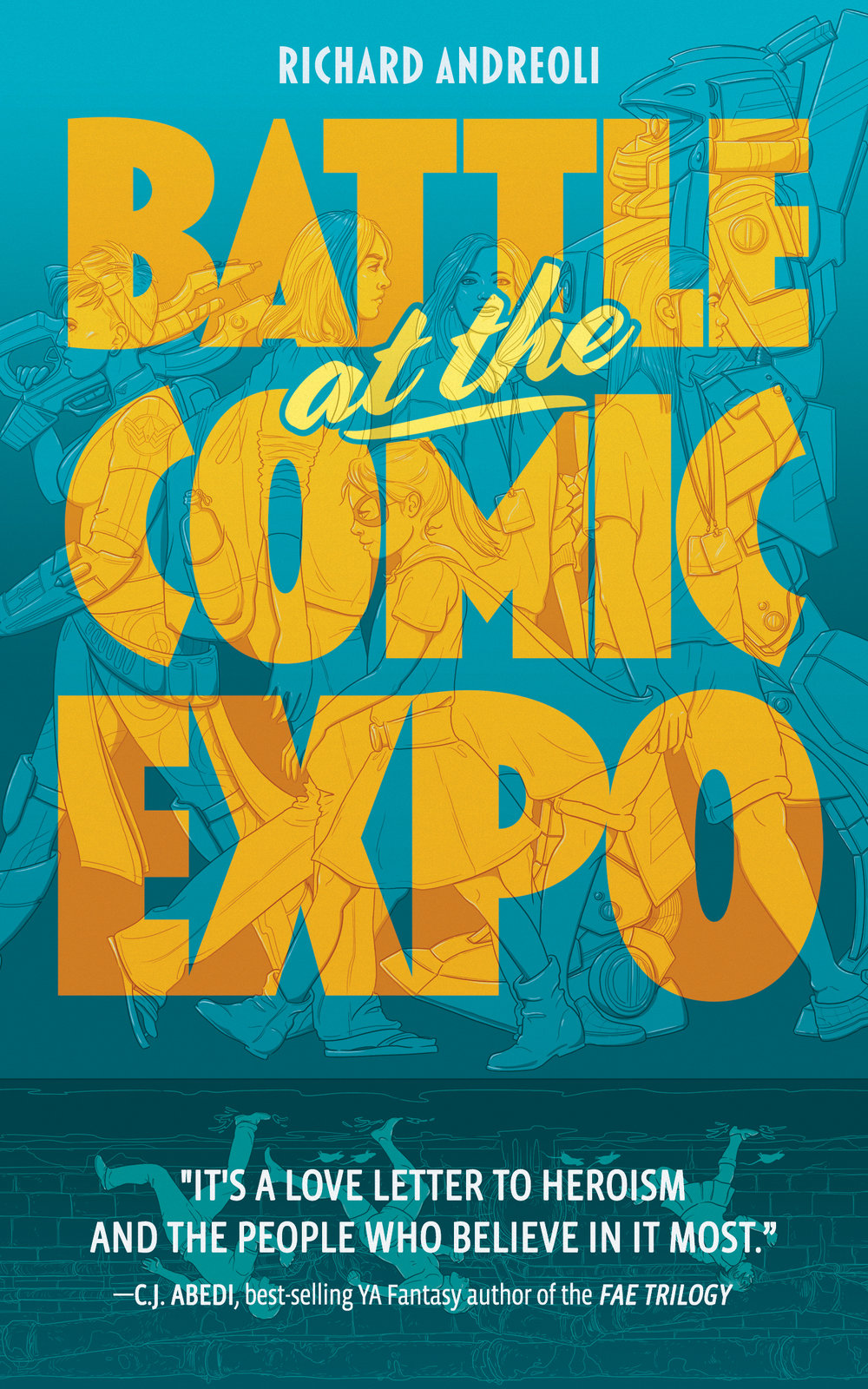 Battle at the Comic Expo cover