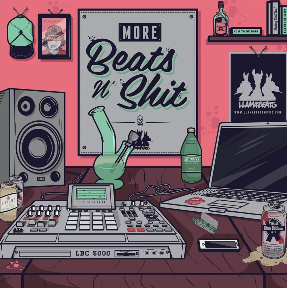 """More Beats n' Shit"" by Llamabeats (2013) -  Stream & Download"
