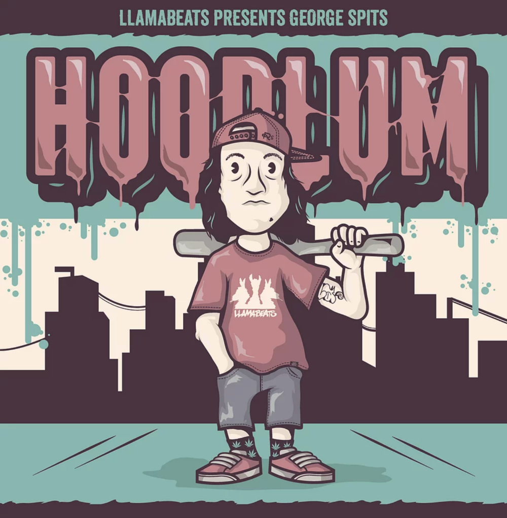 """Hoodlum"" by George Spits of Llamabeats (2014) -  Stream & Download"