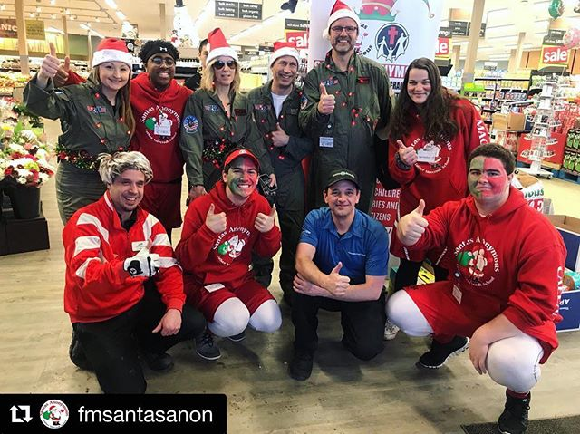 We had a great time supporting our community! Can't wait for next year's event! #Repost @fmsantasanon ・・・ The winners of the 2018 Supermarket Spree were the Top Guns from Fort McMurray Airport Authority! They rocked it! Best costume, best gingerbread house and #1️⃣ overall! We are so thankful to all the teams that made today so fun! Baron and Jeff of Thickwood @saveonfoods did a tremendous job of organizing this. We are super excited to see what happens next year!