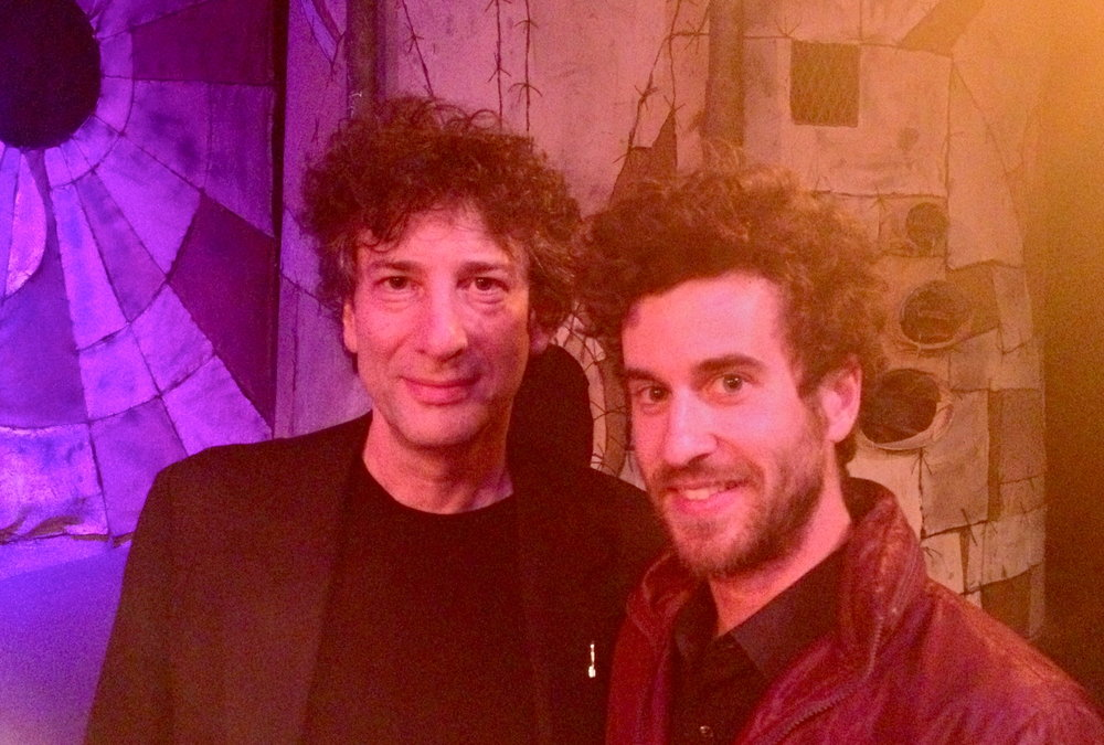 Writer, Neil Gaiman and Myself  (Martin Morse)