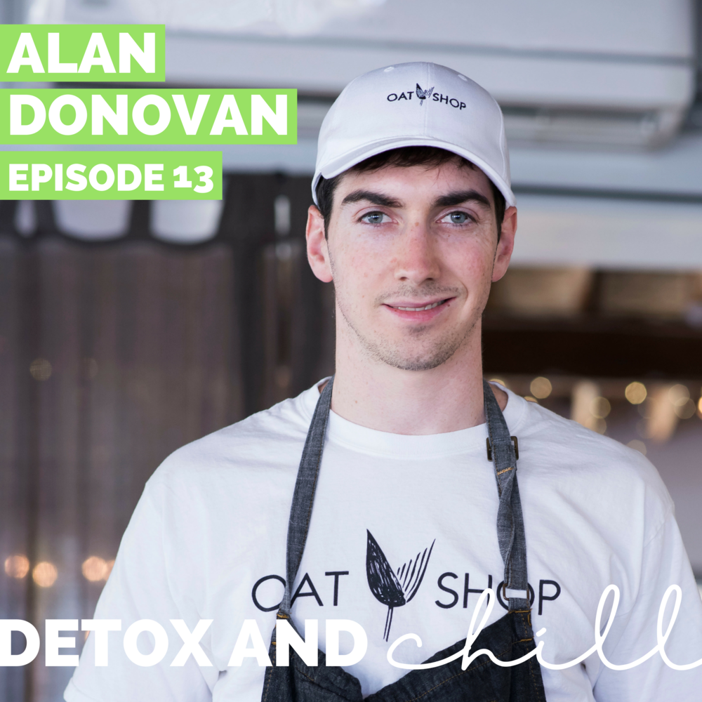 Episode#13: Alan Donovan // Founderof The Oat Shop // Starting a Business: 101 - Hi Fam! Happy Fridayyyy we made it! We are back with ALL OUT AUGUST for ya, and this is a goooood one. Do you guys like oatmeal? Then this is the episode for you. Today, Alan shares his story of leaving a prominent Finance position in D.C. and starting the amazing Oat Shop in Davis Square here in Cambridge. We get into the NITTY GRITTY of writing a business plan, running your own small business, finding a brick and mortar location for your business, and the growth he's experienced -- we even talk about our favorite topic, money honeyyy.  Alan is such an inspiration to us and really walks the walk. We are so thankful for him taking the time for this interview! If you need any catering done in the city, look no further! The Oat Shop will seriously have you covered and your co-workers will THANK you! If you head to the Oatshop, tell them that Detox & Chill sent you, and definitely try the sriracha bowl <3 HAPPY WEEKEND FAM!  Meg & Beck