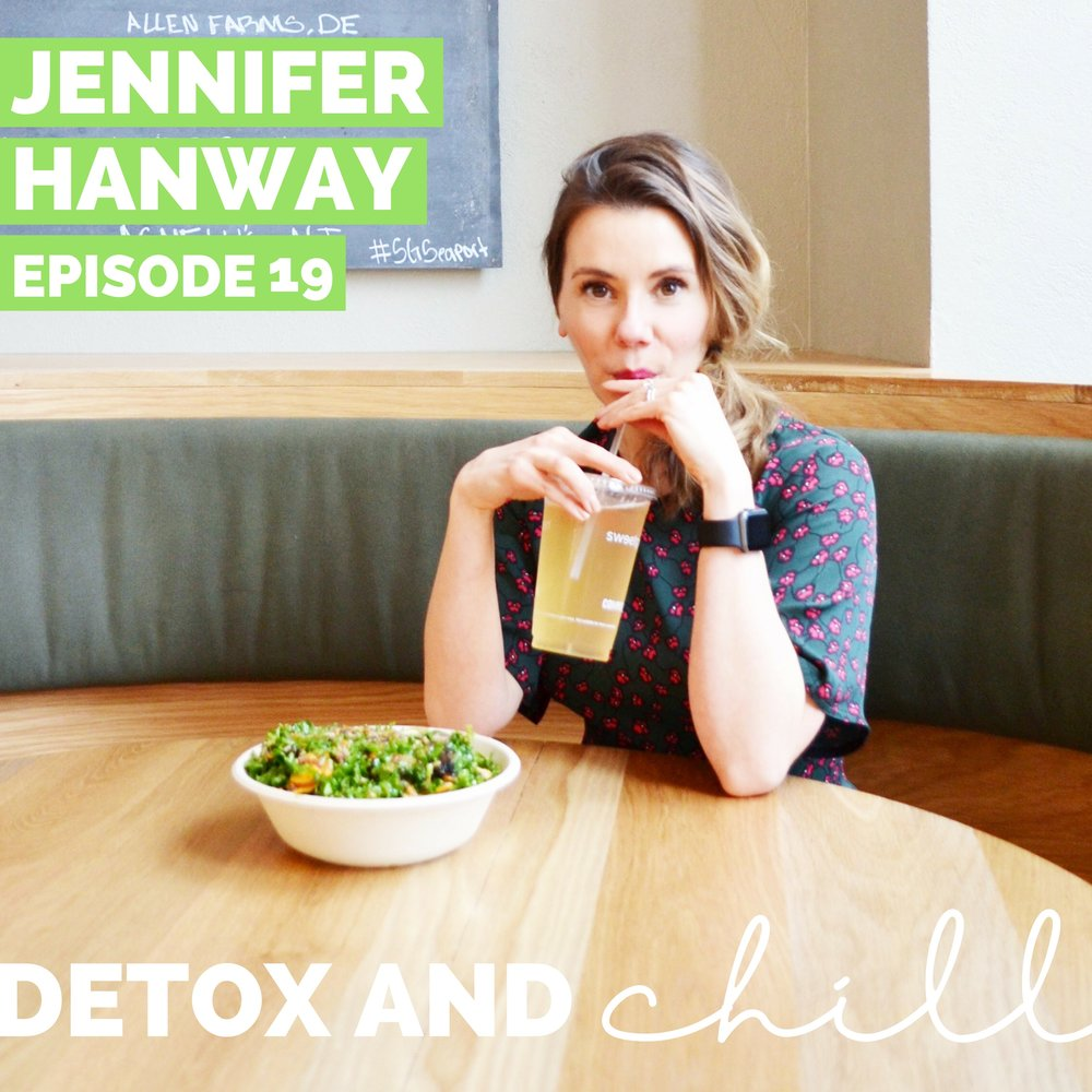 Episode #19: Jennifer Hanway // Nutritionist, Bio Signature Modulation Practitioner, & Personal Trainer // Glowing From The Inside Out - Hi All! Happy Monday! We hope you had an amazing weekend! We miss checking in with you twice a week like we did for ALL OUT August...but we have a lot of things in the works for you behind the scenes in the meantime.Today we're back with an interview featuring the lovely Jennifer Hanway --who is seriously one of the most lovely and qualified ladies in the Boston area.Jenny's struggle with digestive issues started young -- at age 7, she was rushed to the emergency room for suspected appendicitis, but the pain turned out to be due to being unable to digest McDonald's. After years of dealing with the same digestive issues as a professional dancer, Jenny's journey ultimately led her to enroll and be certified as a Holistic Nutritionist, Level 2 Bio Signature Modulation Practitioner, and Certified Personal Trainer.Jenny truly does it all and has soooo many valuable recommendations for listeners in this episode. She recently has made the transition from solely one-on-one coaching to creating her own 28-day gut reboot program. As you'll hear in the episode, this reboot is above all else REALISTIC but will still provide amazing results. We will be participating in the program for the next 28 days and would LOVE to have you guys join us! If you like, use our code