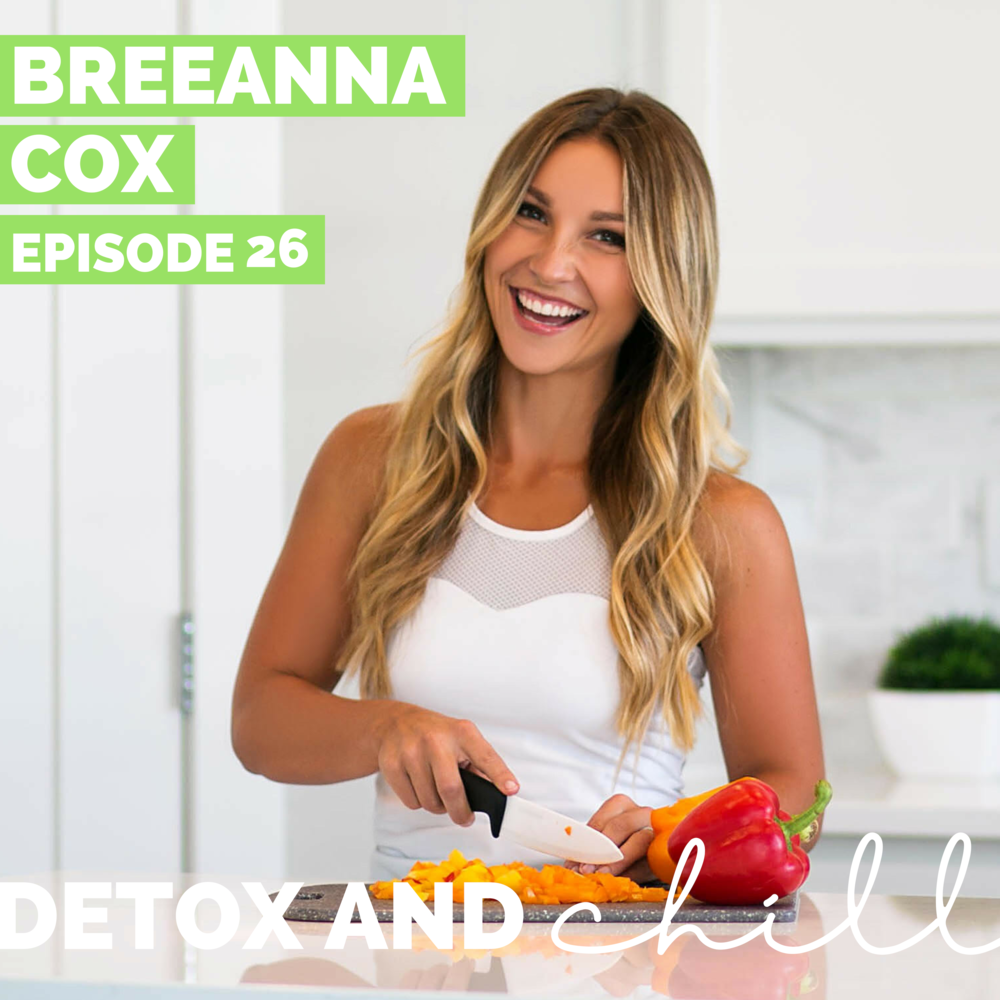Episode #26: Breanna Cox // Personal Trainer & Macro Coach // Breaking Down Macros, Becoming Free of Restriction, & Owning Who You Are - We're back this week with someone we've been dying to bring on for a long time. We have both been on our own self-love and health journeys over the years, so sometimes we are HYPER aware of is the intensity in the fitness industry: sticking to specific and regimented plans // diets // trainers // etc…In this world that can veer on restriction, Bree is a breath of fresh air. A wife and mother of two, former gymnast, and successful business owner, Bree seriously does it all and keeps it real along the way. Bree is extremely well-versed in fitness and as a trainer/coach herself, she's a wealth of knowledge!In this episode we break down a lot of buzzwords we hear relating to fitness, including:-Macros - what are they? And why are they important on our fitness journey?-Diet options for those of us who may be a bit too regimented (or have struggled with disordered eating in the past) that maybe need a more flexible plan;-Bikini competitions - what's it like to push your body to those extremes and what does that do for your body image;-Bouncing back after a competition in a healthy way;-Cheat meals: how they can be a key part of staying sane while meeting your fitness goals;-Motherhood: how sometimes the biggest form of self-care is getting a babysitter to get some alone time;-We also touch on the KEY to all of this — enjoying life and always remembering that while health and fitness are very important, they're not the be-all and end-all. We have to keep living life along the way!We can't say enough amazing things about Bree. She will be launching her challenge in the next couple of months, and the winner will go to Thailand! How cool, right? Check her out in the links below!WebsiteInstagramWe'd love to continue this conversation in our Facebook group and on Instagram. Our Facebook group is a safe space for anyone who joins, so don't forget to check us out there. Just search *SUPER EXLUSIVE* Detox & Chill Podcast Group.As always, don't forget to follow along with us on Instagram (@detoxandchillpodcast) and join our Facebook group. We love you guys!Xoxo,Meg & Beck