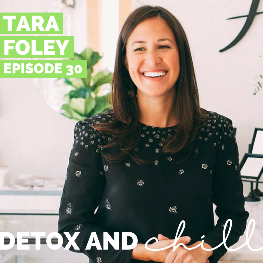 Episode #30: Tara Foley // Founder & CEO of Follain // Building a Unique Brand in the Clean-Beauty Industry - We're blown away that founder and CEO Tara Foley took the time out of her evening to record with us, and share her entrepreneurial story.Follain is an independent retailer that thinks about the clean beauty industry differently. The brand is built on founder Tara Foley's passion for safe ingredients and desire to act as a platform for the niche makers that share her perspective in the non-toxic personal care movement. Follain vigorously vets brands based on the highest standards of performance and health to feature a passionately selected portfolio of skincare, hair care, and cosmetic products for their shoppers.Before Follain, Tara researched safe and sustainable skincare, apprenticing on an organic lavender farm in France, and with a private label skin care company in Maine. With degrees in public policy and business, Tara's vision, passion, and activism fuel Follain's growth, and its mission of improving the health and lives of others.In this episode, we talk about Tara's journey from working a job that she wasn't fully passionate about, to diving headfirst into business school and winning a business proposal to open her retail storefront.We also talk about funding your own business. We were so excited that Tara was so open and honest with us regarding her experience with investors and raising capital. So fascinating and impressive.Keep an eye on Follain moving forward as they continue to expand nationwide. We have a feeling they're going to be HUGE.Check out Tara's links here:Tara's InstagramFollain's InstagramFollain's website (so many amazing goodies!)We are so excited to hear what you think. We'd love to continue this conversation in our Facebook group and on Instagram. Our Facebook group is a safe space for anyone who joins, so don't forget to check us out there. Just search *SUPER EXLUSIVE* Detox & Chill Podcast Group. As always, don't forget to follow along with us on Instagram (@detoxandchillpodcast) and join our Facebook group. We love you!Xoxo,Meg & Beck