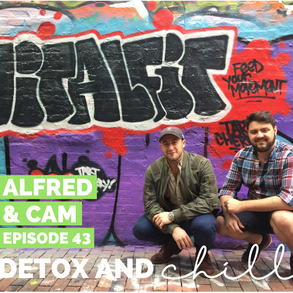 Episode #43: Alfred & Cam // Founders of VitalFit Nutrition // Fighting Inflammation with Tart Cherry & The Grind of Entrepreneurship - Hi friends! Can you all believe that it's March already? Insanity that we're already almost through a quarter of the year.We had the best weekend this past weekend — Shoutout to SweatFixx and the amazing Elise Caira for teaching a class for our amazing listeners. It was INTENSE in the best way possible.This week, we have an amazing powerhouse duo on the pod - Cameron and Alfred of VitalFit.Cameron and Alfred started VitalFit as a part of their grad school thesis project at Babson. What was a gripe with commissioned sales clerks, flashy marketing, and lack of industry accountability turned into their full-time venture. It was ultimately a back injury from playing basketball that actually led us to their first product.Sick of taking ibuprofen and having no luck finding a natural alternative they felt like something was missing. Eventually, they came across tart cherry juice, which was surprisingly effective and began working on the way to best deliver its effects and apply it to the health and wellness space.At the same time, they noticed a gap between performance and lifestyle products. There were tons of products for athletes and tons more for general wellness, but few that were meeting in the middle for a fitness-conscious, working professional. All of these events contributed to Alfred and Cameron moving forward with VitalFit.Our conversation was fascinating and we are so excited to share it with you as well. Find VitalFit here, and follow them on Instagram here.We are so proud and excited about this episode and are so excited to hear what you think - let's start normalizing these conversations together. We'd love to continue this conversation in our Facebook group and on Instagram. Our Facebook group is a safe space for anyone who joins, so don't forget to check us out there. Just search *SUPER EXLUSIVE* Detox & Chill Podcast Gro