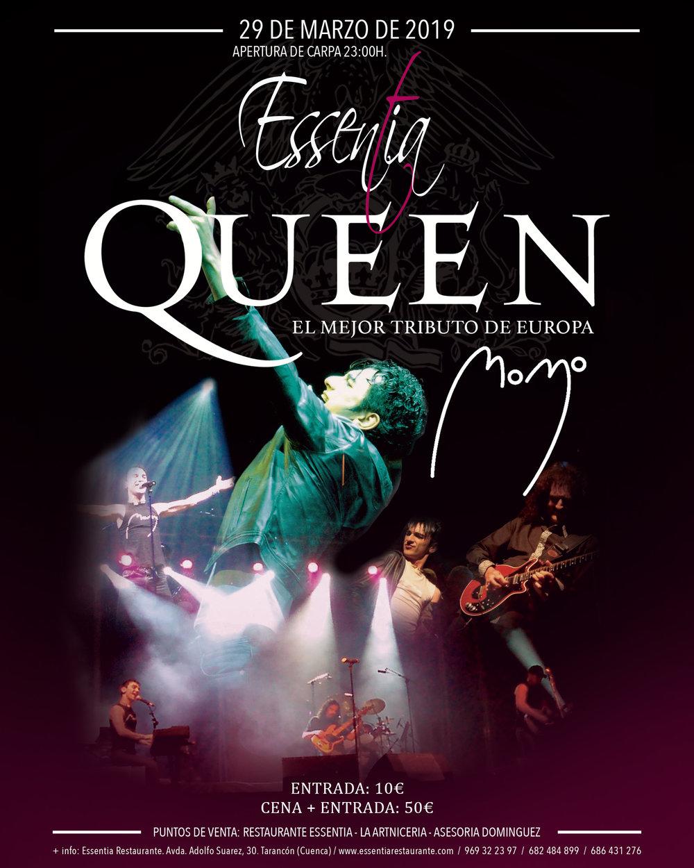 queen en Essentia Restaurante