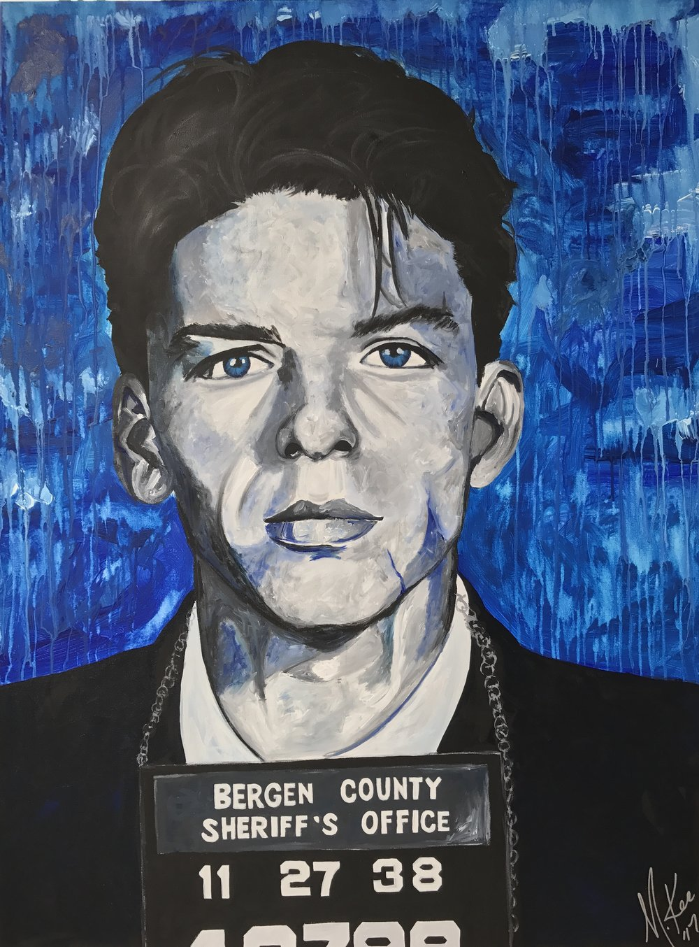 "Michelle Kee  ""Ol' Blue Eyes"" 