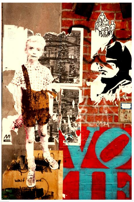 "Christy Lin  Graffiti Mural Photography | 9"" x 11"" | $100"