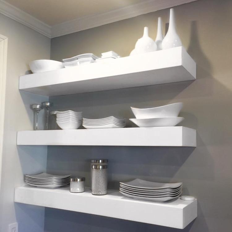 Floating shelves -