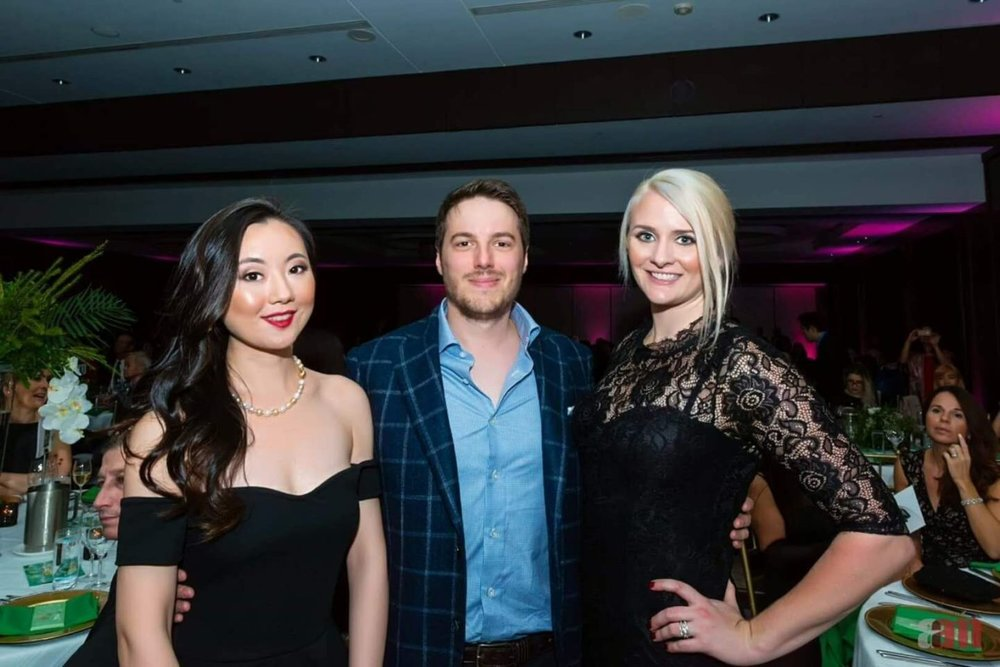 The event was attended by co-founder Yoan Gehant-Vidoni, Marketing Director Ashley Aucoin, and Client Relations Hu Die.
