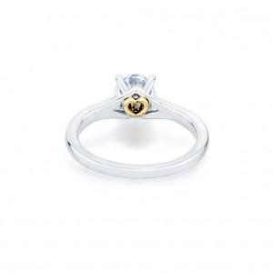 """THE """"SECRET HEART"""" OF THE SECRET HEART DIAMOND ENGAGEMENT RING"""