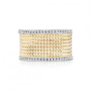 Ecksand Diamond Cuff Ring