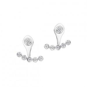 Ecksand Jacket Diamond Earrings