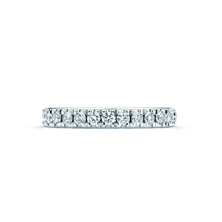 Large Stackable Diamond Ring