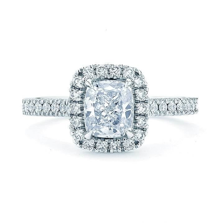 Cushion Cut halo - From $2,455