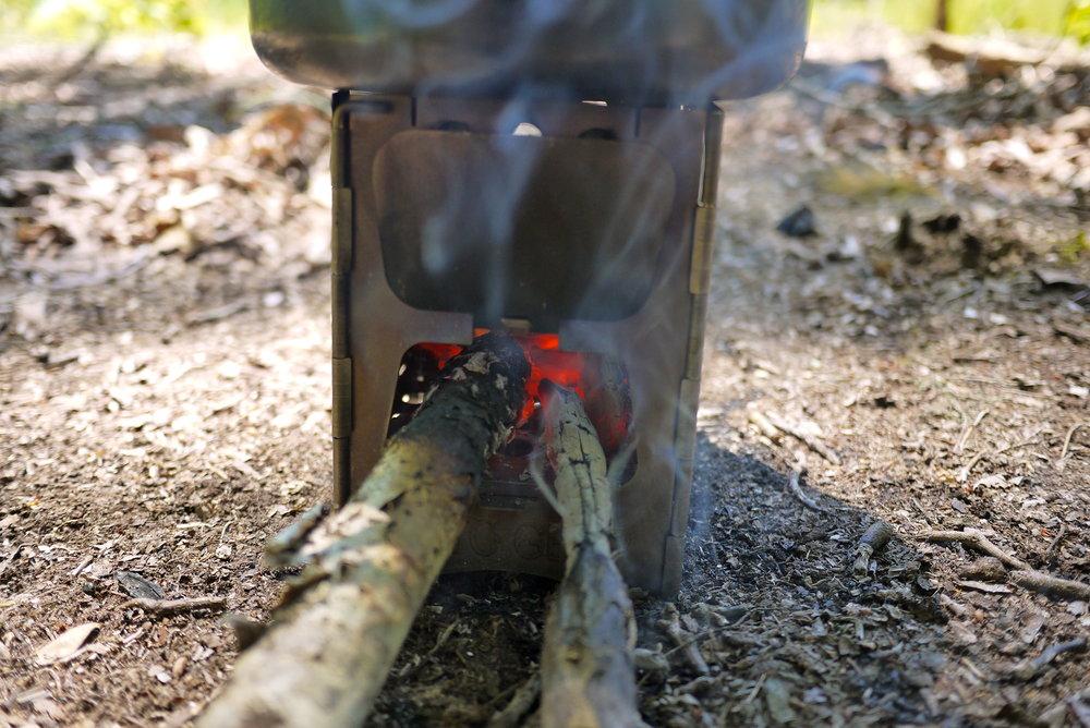 TATO Element Wood Stove