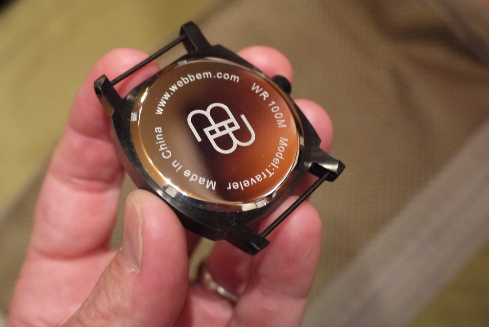 weBBem Traveler Watch