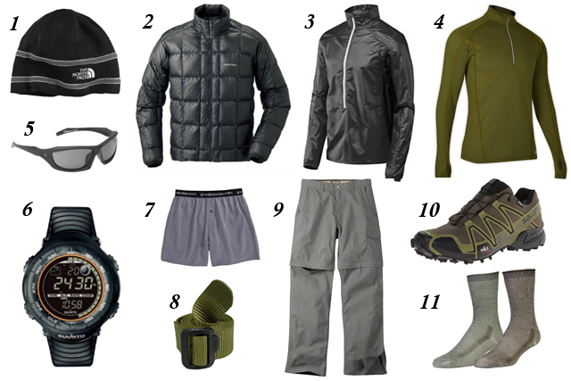 My Favorite Hiking Apparel - Backpacking Layering System