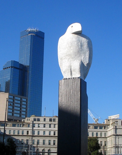 Eagle - located in the Docklands precinct of Melbourne
