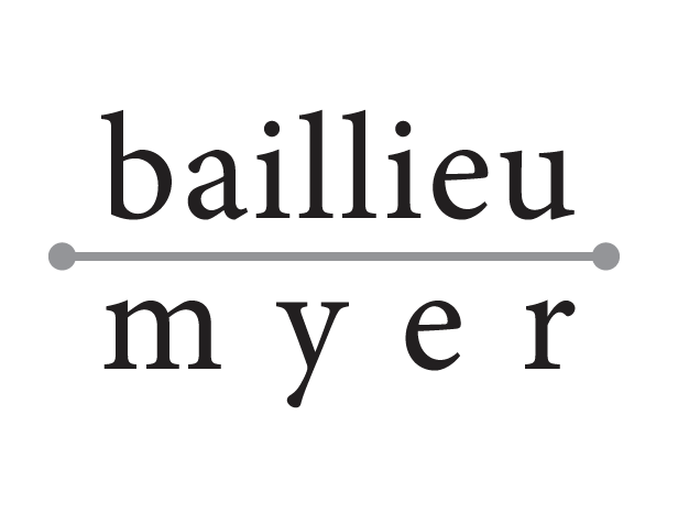 Proudly Supported by Baillieu Myer