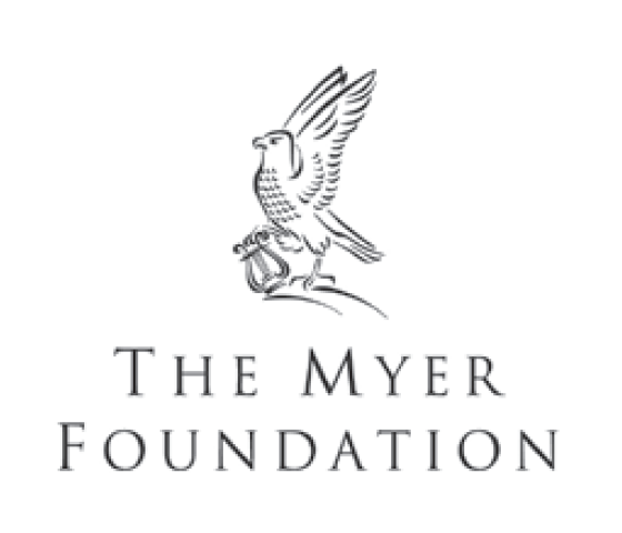 Proudly Supported by The Myer Foundation