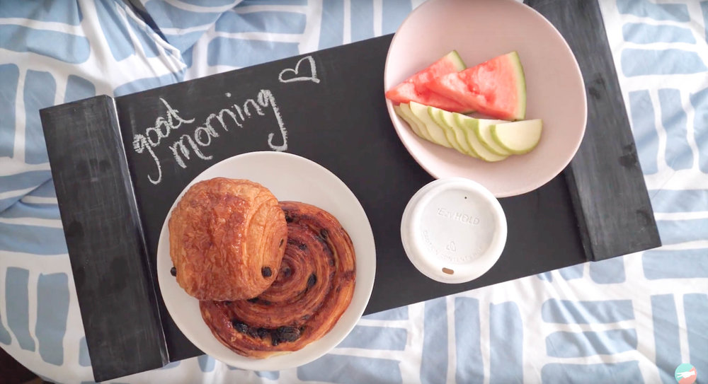 Mother's Day DIY: Breakfast in Bed Tray