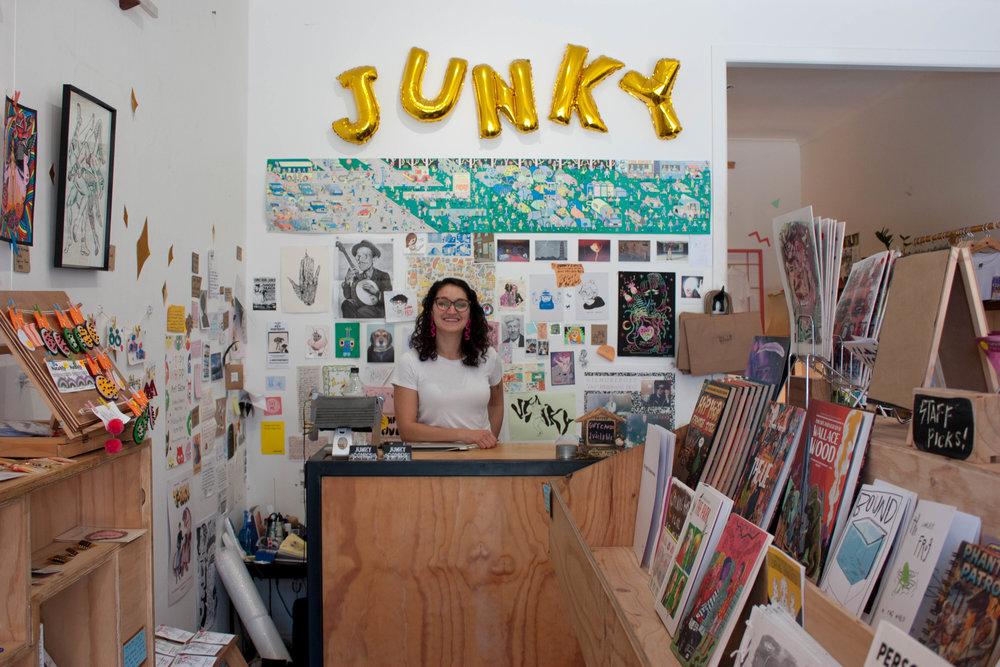 Kitty Gang Meets Vlada of Junky Comics