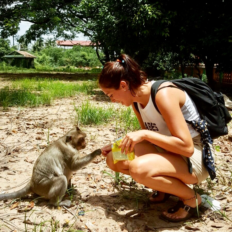 Not the monkey who bit me.