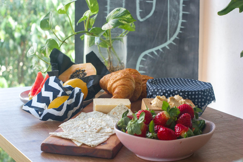 Check out our beeswax food wrap tutorial  here !