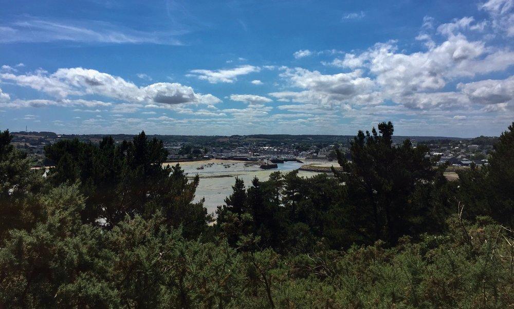 Overlooking Paimpol