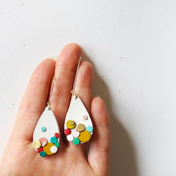 Etsy blast earrings