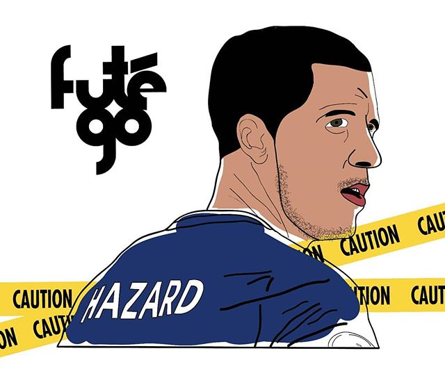 ⚠️ CAUTION! ⚠️ Stay clear of Hazard he is prone to explode under pressure. 🔥  Comment which illustration we should do next 👍  Follow futego for product drops, cool videos and illustrstions ⚽️ #futego #football #futbol #FIFA #WorldCup #Hazard #Edenhazard #premierleague #soccer #SoccerLifestyle #FootballCulture #SoccerCulture #FootballPassion #SoccerFashion #SoccerBible #SoccerDotCom #ProDirectSoccer #SoccerIsLife #Footballer #EverythingSoccer #SoccerLife #SoccerShirt #AdidasFootball #NikeFootball #Baller #Balr #CanYouKickIt? #Umbro #JogaBonito #8by8Mag
