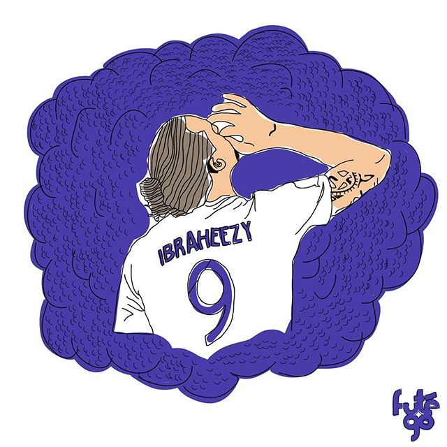 Ibrahimovic aka Ibraheezy is blazing the MLS and recently scored his 500th goal for club and country 🔥🔥🔥 (If you didn't catch the reference, this is from Ibra's recent goal celebration) ⚽️ Want a Ibraheezy shirt? Let us know! 👀  #futego #mlssoccer #futbol #FIFA #WorldCup #ibrahimovic #ibra #MLS #soccer #ibrahimovic #FootballCulture #SoccerCulture #FootballPassion #SoccerFashion #SoccerBible #artist #zlataninrahimovic #zlatanfacts #artwork #EverythingSoccer #SoccerLife #zlatan #AdidasFootball #NikeFootball #Baller #zlatanfacts #CanYouKickIt? #Umbro #JogaBonito #8by8Mag