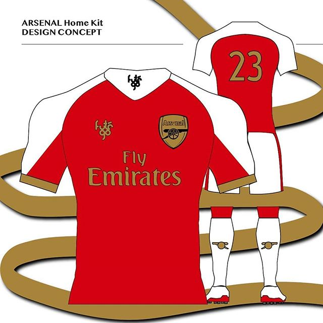 Futego x Arsenal Design 💯  Maybe Arsenal needs a golden touch so they can start winning trophies again 🤔🥇🏆 Comment your thoughts and let me know if you would rock this! ❤❤❤ #futego #football #futbol #FIFA #gooners #arsenalfantv #arsenalnews #MLS #soccer #SoccerLifestyle #FootballCulture #SoccerCulture #FootballPassion #SoccerFashion #SoccerBible #SoccerDotCom #ProDirectSoccer #SoccerIsLife #arsenalfcfans #EverythingSoccer #Arsenalfc #SoccerShirt #AdidasFootball #NikeFootball #ratemycustoms #ratemyart #collectivedesigners #designerscollective #designer #8by8Mag