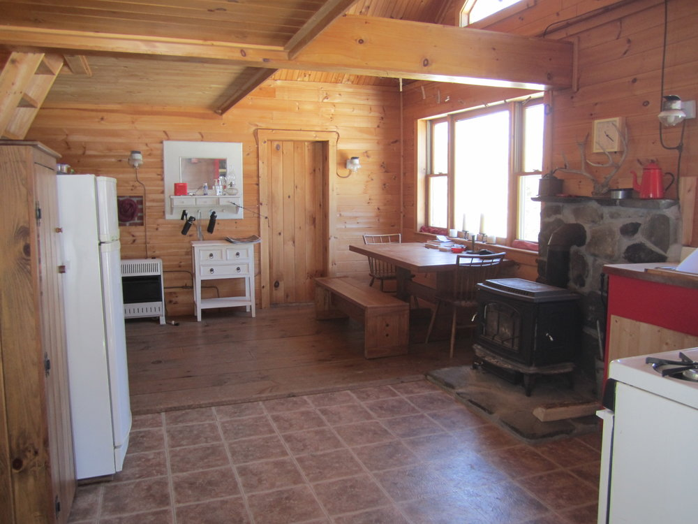Inside the cabin
