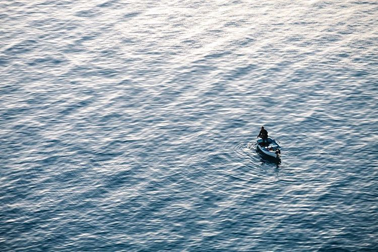 Man at sea. Taormina, Sicily 2016. Outside of the box #14 Images from my archive. #sicily #Sicilia #Taormina #fisher #mediterraneo #mediterrean #sea #mare #seaview #photography #photooftheday #antoniosansica #archive #art #landscape #paesaggio #fotografia