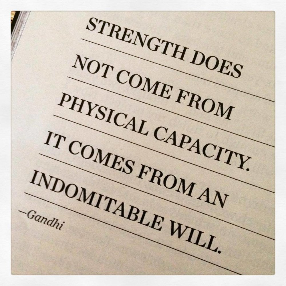 #strength #gandhi #will #quotes @natgeo