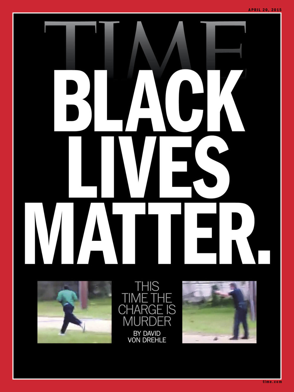 timemagazine :      TIME's new cover: Black Lives Matter.