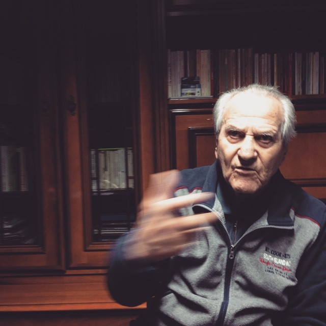 "Bruno ""Kira"" Valcavi. 90. Bruno has fought the Second World War by joining the resistance up on the mountains nearby the town of #reggioemilia , in Emilia Romagna.    ""we fought for the freedom of everybody, not for just a small part"". #partisans #partigiano #partigiani #resistenza #Italy #italia #resistance #resistenza #ww2 #war #reportagespotlight #veterans"