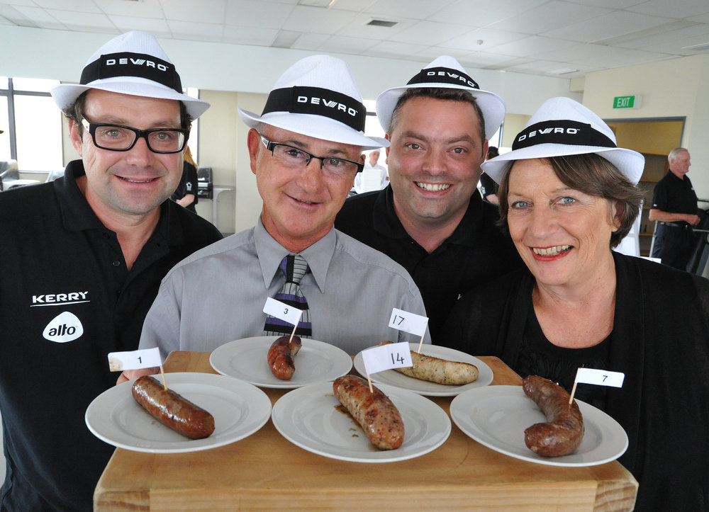 Sausage Competition Judges