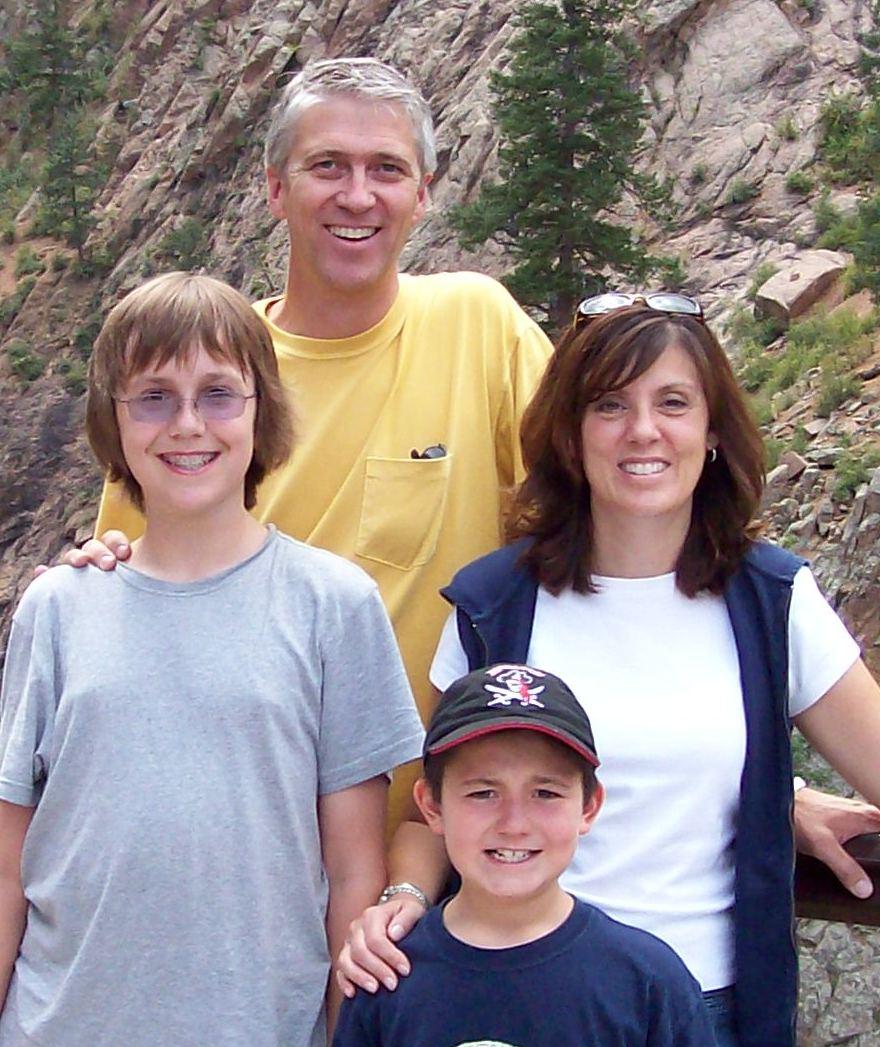 Risendals at 7 Falls in Colorado Springs