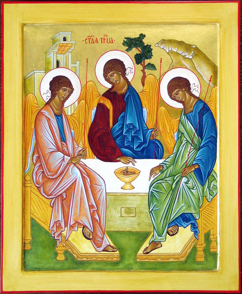 Celtic Trinity Icon
