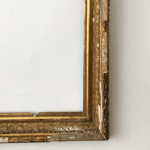Antique Distressed Gold Frame — STORIE.
