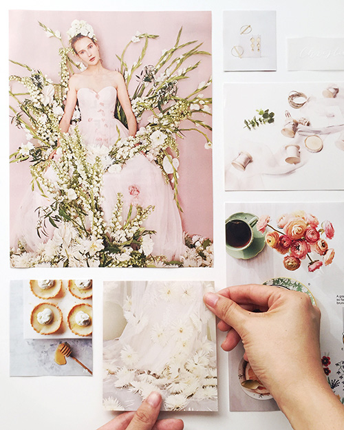 amy zhang creative | branding inspiration board