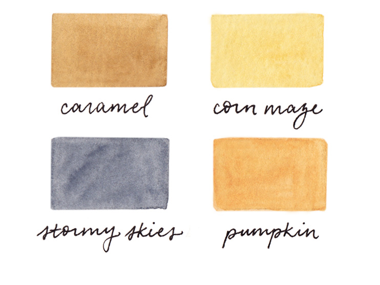 amy zhang creative | october color palette