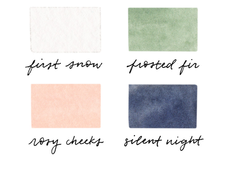 amy zhang creative | december color palette